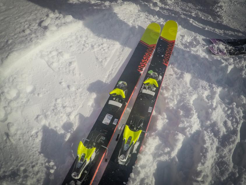 test ski Rossignol soul 7 2017