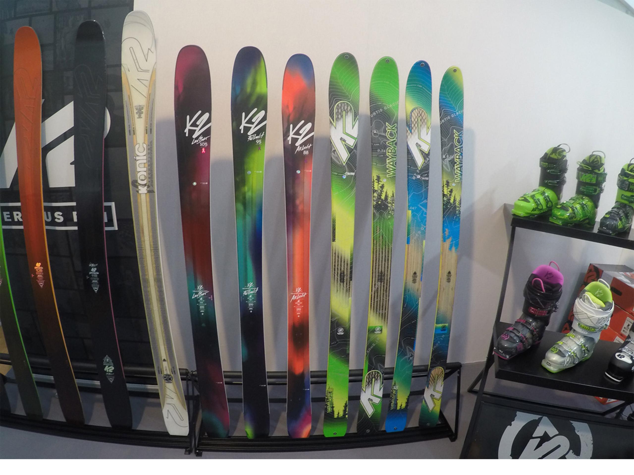 skis K2 2016-2017