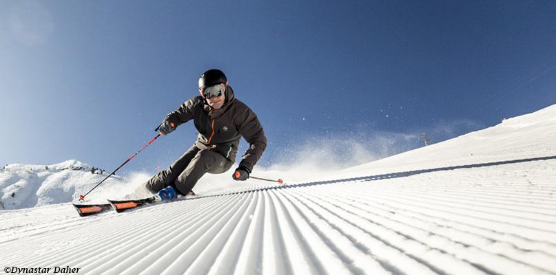 Ski piste expert