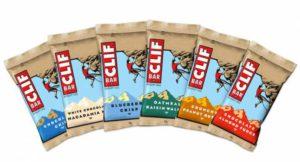 Barres de céréales CLIF BAR pour le trail - 7 parfums