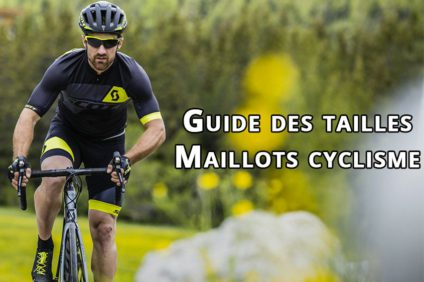 Guide des tailles maillots cyclisme