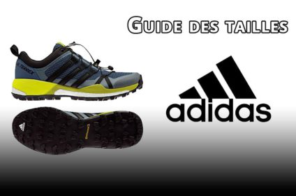 Guide des pointures chaussures Adidas