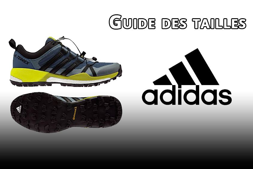 guide des tailles chaussures adidas sportaixtrem. Black Bedroom Furniture Sets. Home Design Ideas