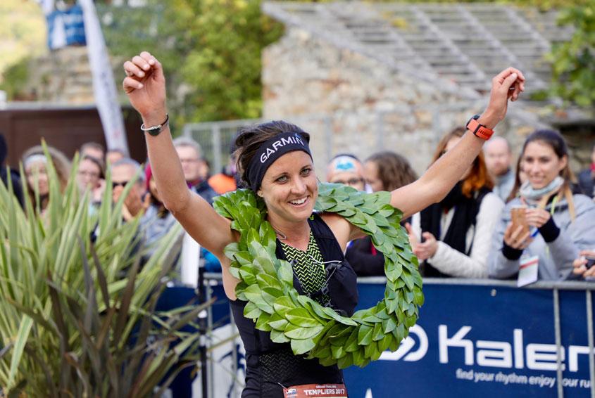 Ruth Croft remporte le trail des templiers 2017