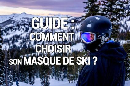 Image pour le guide : comment choisir son masque de ski.