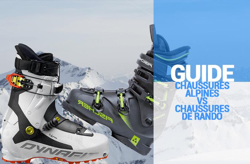 Guide SportAixTrem - Chaussures alpines vs chaussures de rando