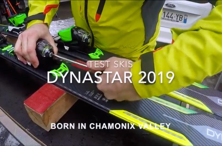 Test skis Chamonix Dynastar SpeedZone 9 CA