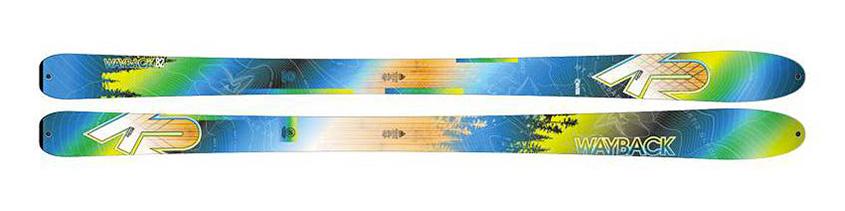 Skis K2 Wayback 82 Ecore 2017