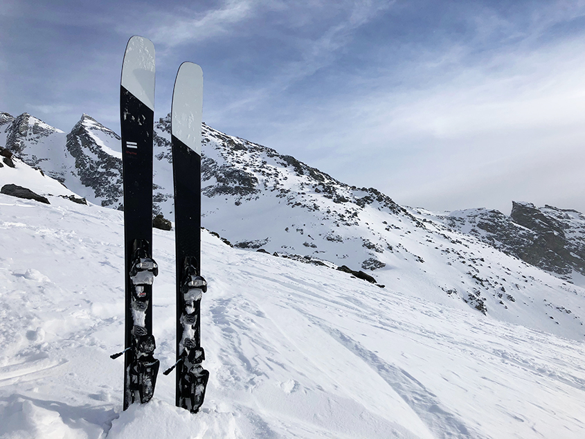Test SportAixTrem skis RHYME BC Reason 90