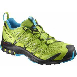salomon xa-pro / Chaussure polyvalente , dotée d'un très fort maintient au talon. Son amortie est plus dur, quant a son cramponnage il est moins conséquent permettant une plus grande polyvalence de terrain (route/ trail). Existe en modèles dotés de la fibre Goretex.