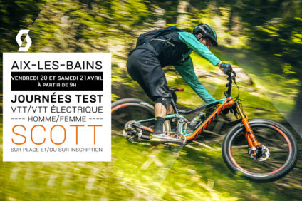 test VTT SCOTT chez SportAixtrem