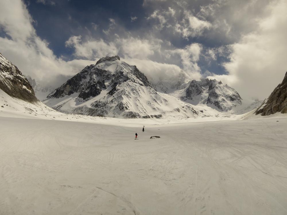 Vallée Blanche mer de glace