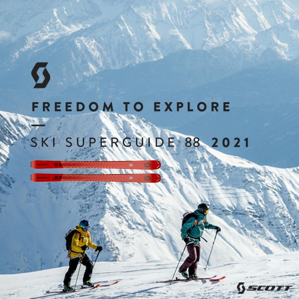 COLLECTION DE SKIS SCOTT SUPERGUIDE 2021