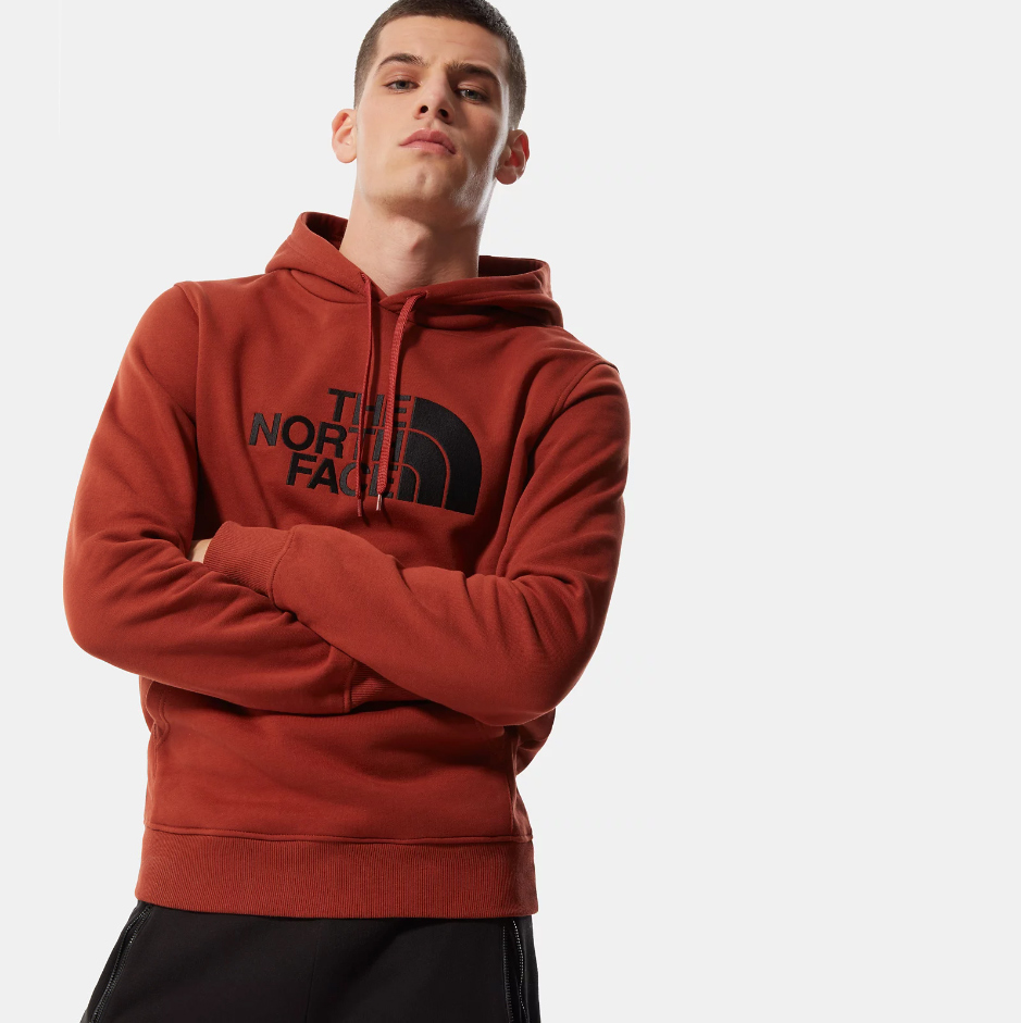The North Face sweat Drew Peak rouge Homme achat sportaixtrem 2020