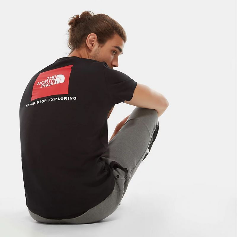 t-shirt The North Face Redbox homme TNF Black