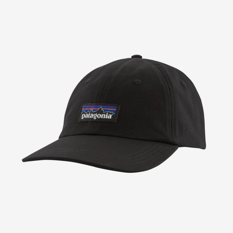 Achat Patagonia P-6 Label Trad Cap Black chez sportaixtrem